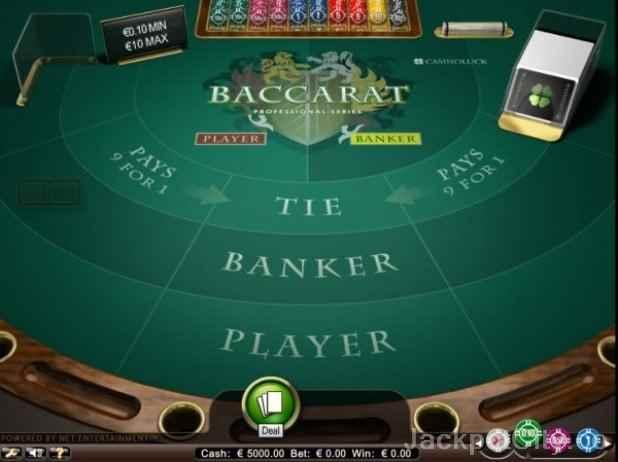 Baccarat Game Casino