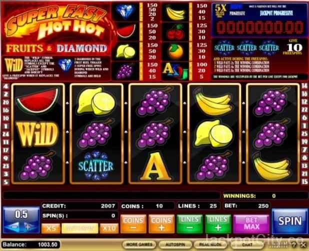 Casino sign up bonus