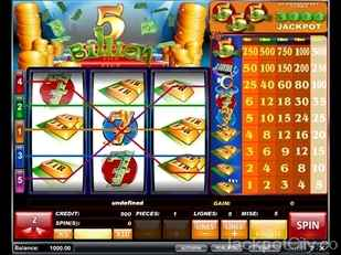 5 Billion Slot isb