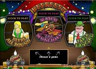 Beer Fest Instant Win microgaming