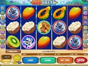 Big Break Slots microgaming