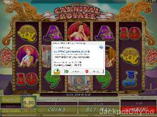 Carnivale Royale microgaming