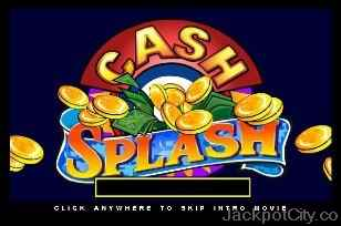 Cash Splash Progressive (5 reels) microgaming