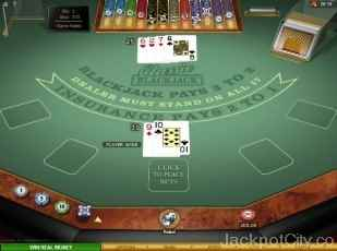 Classic Blackjack Gold Series microgaming