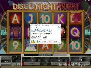 Disco Night Fright microgaming
