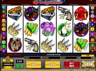 Dogfather Slots microgaming