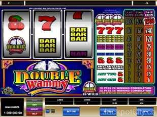 Double Wammy Slots microgaming