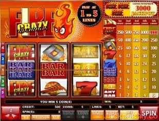 Fire Crazy Slots isb
