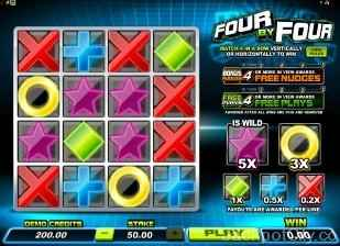 Four By Four microgaming
