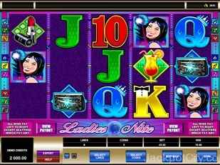 Ladies Nite Slots microgaming