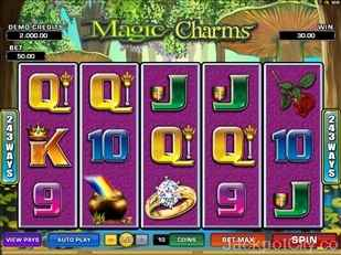 Magic Charms Slots microgaming