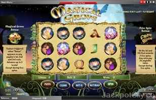 Magical Grove Slots chartwell