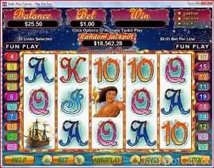Mermaid Queen Slots rtg