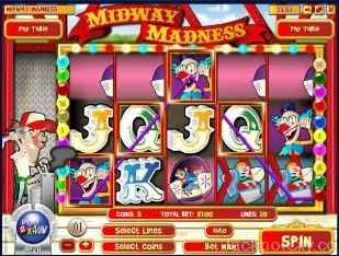 Midway Madness Slots rival