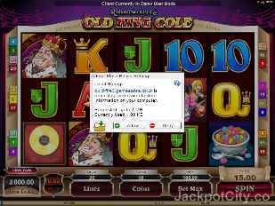 Old King Cole microgaming