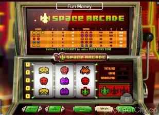 Space Arcade Slot skillonnet