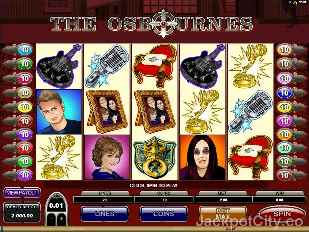 The Osbournes Slots microgaming