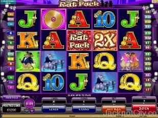 The Rat Pack Slots microgaming