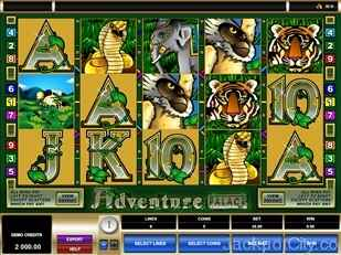 Adventure Palace Slot microgaming