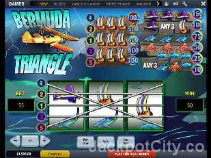 Bermuda Triangle Slots playtech