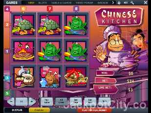 Chinese Kitchen Slots playtech
