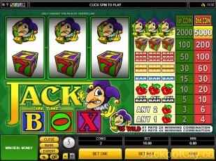 Jack In The Box microgaming