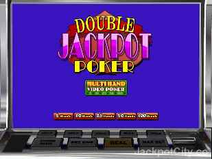 Multihand Double Jackpot Poker betsoft