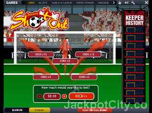 Penalty Shootout playtech