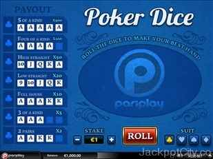 Poker Dice pariplay