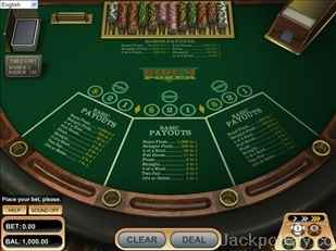 Ride'm Poker betsoft