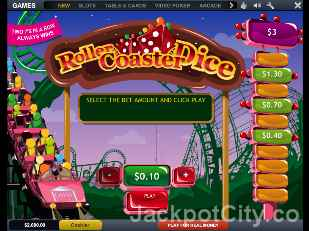 Roller Coaster Dice playtech