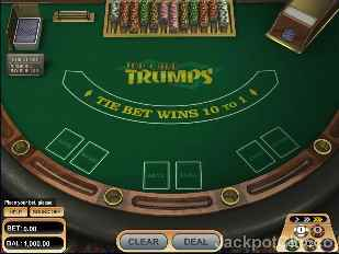 Top Cards Trumps betsoft
