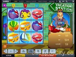 Vacation Station Slots playtech