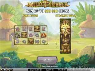 Wild Turkey Slot netent